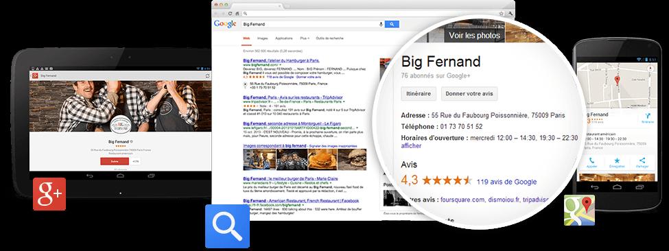 Faites-vous connaître gratuitement sur Google
