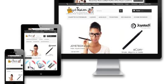 Joyeteam e-cigarettes et e-liquides promotions