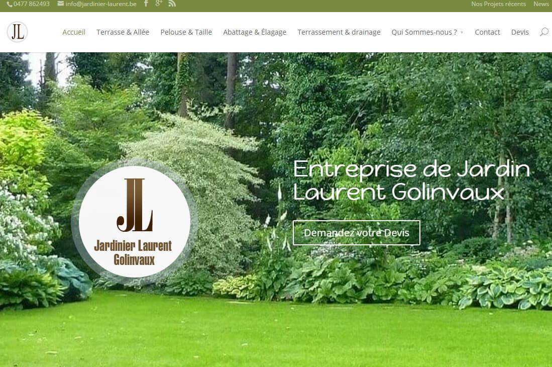 Quelques travaux r cents agence de cr ation site for Jardinier brabant wallon