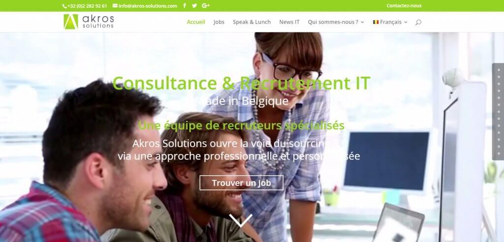 consultance et recrutement IT Bruxelles Belgique