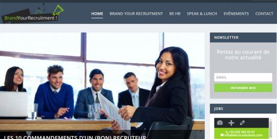 brand your recruitment Belgique