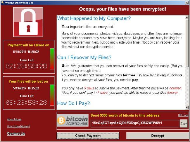Nouveau WannaCry Ransomware et comment se protéger