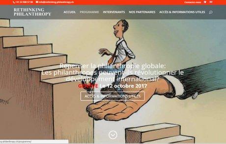 Rethinking philanthropy Genève