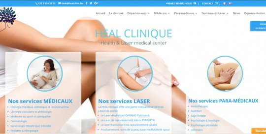 Heal Clinic Bruxelles Belgique
