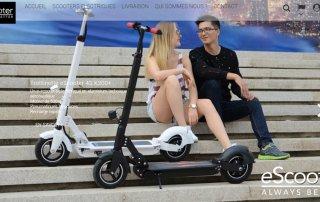 escooter trottinettes electriques