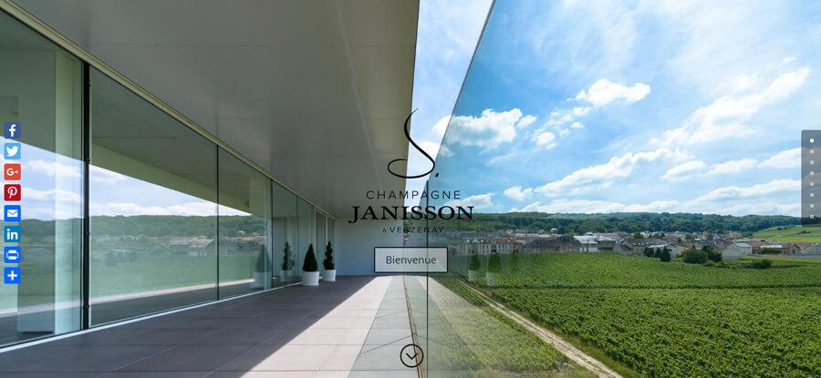 Champagne Janisson Eshop Pro